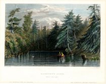 Image of Barhydt's Lake. (Near Saratoga). - Print