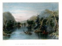 Image of Scene Among the Highlands On Lake George. - Print