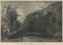 Image of Bluff On the Erie Canal, Near Little Falls - Print