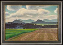 Image of Untitled: Asgaard Farm - Painting