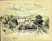 Image of [Highland Cottage / Stroudsburg, PA] - Drawing