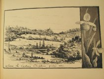 Image of [Where the Ladies Slipper Grow, 1882] - Drawing