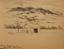 Image of [Spread Eagle Mountain, Keene Valley, Adirondacks] - Drawing