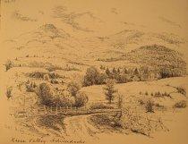 Image of [Keene Valley, Adirondacks] - Drawing
