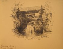 Image of [Clifford Falls, Keene Valley] - Drawing