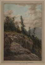 Image of Top of Giant's Leap, Adirondacks - Painting