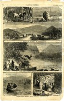 Image of Sketches in the Adirondack Region. - Print