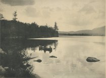 Image of View Looking West From the Prospect House, Blue Mountain Lake. Adirondacks, N.Y. - Collotype