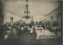 Image of Dining Room, Prospect House, Blue Mountain Lake, Adirondacks, N.Y. - Collotype