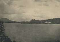 Image of Looking South-east from Rock Island, Blue Mountain Lake, Adirondacks, N.Y. - Collotype