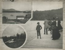 Image of Around Blue Mountain Lake, Adirondacks, N.Y. - Collotype