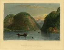 Image of Rogers' Slide, Lake George. - Print