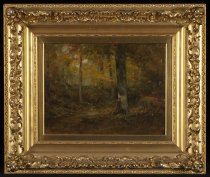 Image of Untitled: Wood Scene - Painting