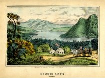 Image of Placid Lake. Adirondacks - Print