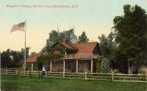 Image of Blagden Cottage, Saranac Inn, Adirondacks. - Postcard