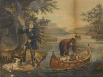 Image of American Hunting Scenes. - Print
