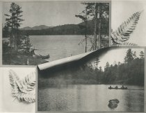 Image of Views on Forked Lake, Adirondacks, N.Y. - Collotype
