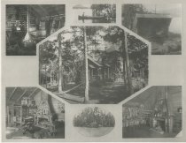 Image of Camp Cedars  Forked Lake, Adirondacks, N.Y. - Collotype