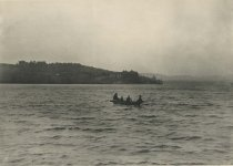 Image of View from Holland's Beach, Blue Mountain Lake, Adirondacks, N.Y. - Collotype