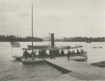 Image of Raquette Lake from Bennett's, Adirondacks, N.Y. - Collotype