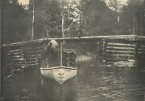 Image of Outlet of Blue Mountain Lake, Adirondacks, N.Y. - Collotype
