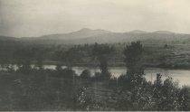 Image of Hudson River at North Creek, Line of Adirondack R'way, Adirondacks, N.Y. - Collotype
