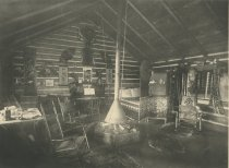 Image of The Wigwam, Camp Cedars, Forked Lake. Adirondacks, N.Y. - Collotype