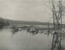Image of Eagle Lake from the Outlet of Blue Mountain Lake, Adirondacks, N.Y. - Collotype