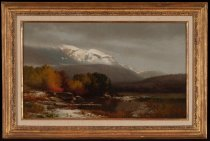 Image of Untitled: Autumn Landscape - Painting