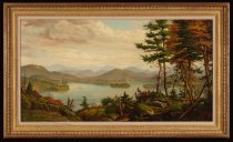 Image of Smith's Lake, Adirondacks, N.Y. - Painting