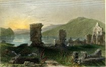Image of View of the Ruins of Fort Ticonderoga. - Print