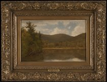 Image of View of the Fourth Lake, Old Forge - Painting