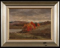 Image of View of the Hudson Near Newcomb - Painting