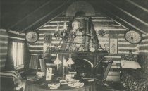 Image of Echo Camp, Long Point, Raquette Lake, Adirondacks, N.Y. - Collotype