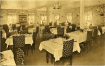 Image of Dining Room, Blue Mountain House - Postcard