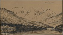 Image of Gothic Mountains - Drawing