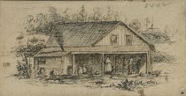 Image of Mother Johnson's House - Drawing