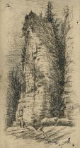 Image of Ausable Chasm - Drawing