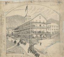 Image of Blue Mountain Lake House - Drawing