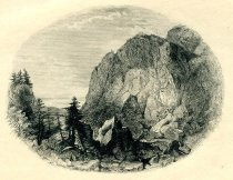 Image of Adirondack Or Indian Pass. Essex County. - Print