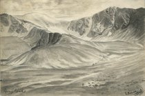 Image of Gray's Peak - Drawing