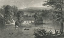 Image of Barclay's Iron Works, Ulston. - Print