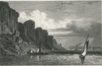 Image of The Palisade Rocks On the Hudson River, West Bank, New York. - Print