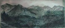 Image of The Range - Adirondack Mountains. - Print