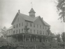 Image of Wells House, Schroon Lake, Adirondacks, N.Y. - Collotype