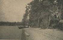 Image of Chauncey Hathorne's Camp, Raquette Lake, Adirondacks, N.Y. - Collotype