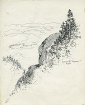 Image of Summit of Seymour - Drawing