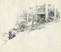 Image of Wanika Falls Camp - Drawing