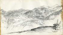 Image of From Noonmark, St. Huberts - Drawing