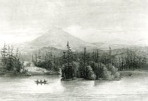 Image of View On Raquette Lake. - Print